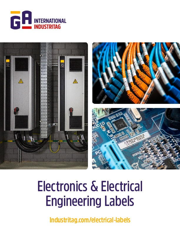 Electronics & Electrical Labels