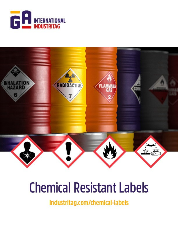 Chemical-Resistance Labels
